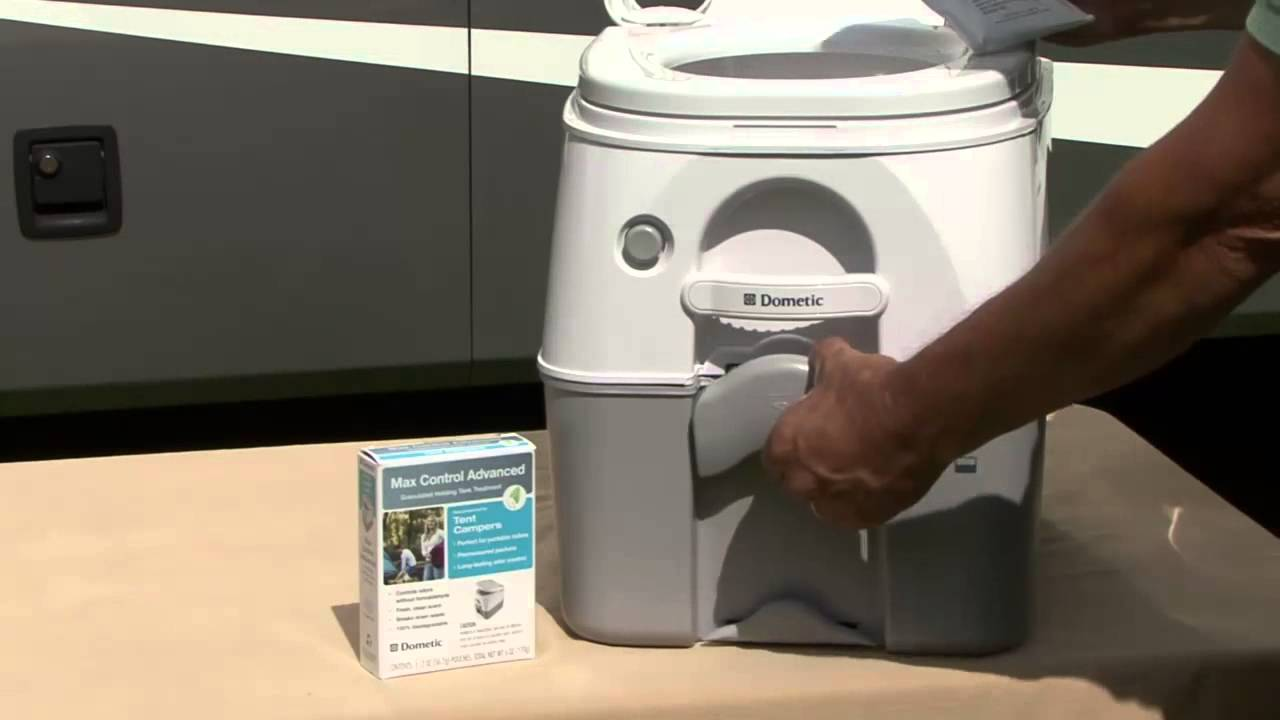 Dometic 970 Series Portable Toilet For Camping Youtube