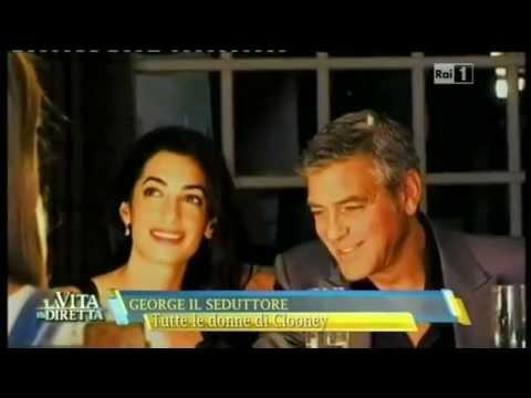"""Clooney annuncia: """"Sposerò Amal… Nozze in Italia, forse a Venezia"""""""