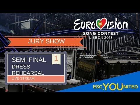 Semi Final 1 - JURY SHOW -  Live Stream (Press Center)