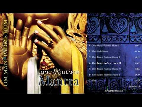 """Mantra - Om Mani Padme Hum ""- By Jane Winther - For Yoga, Mindfulness & Meditation"