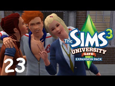 Let's Play: The Sims 3 University Life - (Part 23) - Fried Chicken and Forbidden Fruit