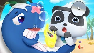 Doctor Rescues Sea Animals | Doctor Cartoon, Police Cartoon | Nursery Rhymes | Kids Songs | BabyBus