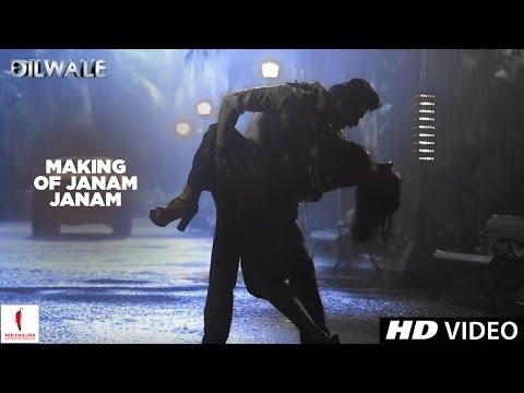 Dilwale | Making of Janam Janam | Kajol, Shah Rukh Khan | A Rohit Shetty Film