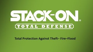 Stack-On Total Defense Fire Resistant and Waterproof Long Gun Safes