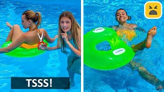 FUNNY SUMMER PRANKS! Best And Creative DIY Prank on Girls & Friends