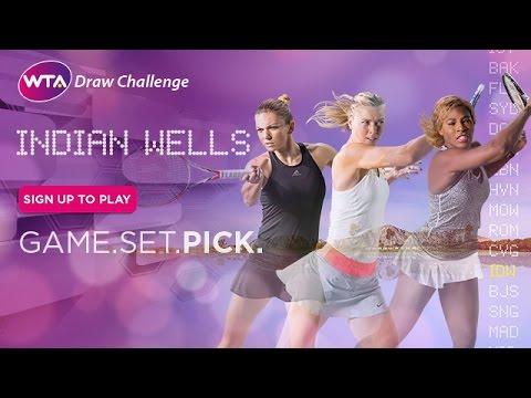 2015 WTA Draw Challenge | BNP Paribas Open
