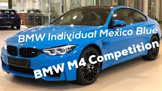 BMW M4 Competition Individual Mexico Blue