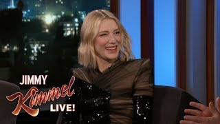 Cate Blanchett Thinks Americans Should Use the Metric System