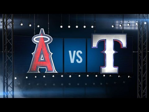 5/23/16: Tropeano, Pujols lift Angels over Rangers