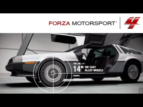 Forza 4 1080p DeLorean DMC-12 Autovista