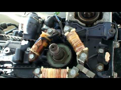 yamaha  hp  stroke high thrust electrical youtube