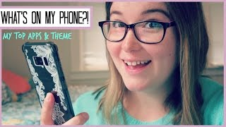 WHAT'S ON MY PHONE | SAMSUNG GALAXY S8