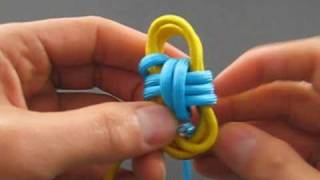 How to Tie a Two Color Monkey