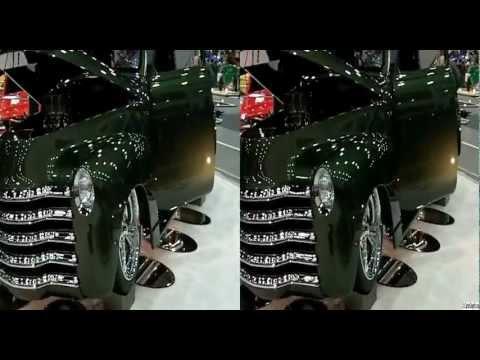 2012 Detroit Autorama Ridler Award Great Eight 1953 Chevy Pickup 3D Video - CarsInDepth.com
