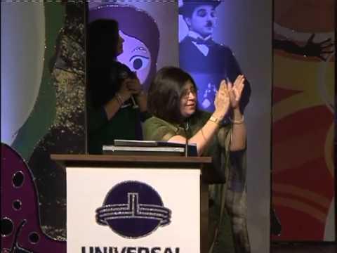 3 UBM Annual Day 2014 15 Show I Principal Speech And Chief Guest Facilation