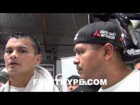MARCOS MAIDANA SAYS FLOYD MAYWEATHER IS VERY BEATABLEIM GOING TO BE THE ONE THAT BEATS HIM