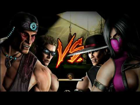 Mortal Kombat (2011) Gameplay on Gamespot Live @ E3 2010