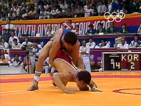Fighting for Home Glory - Kim Young-Nam - Wrestling - Seoul 1988 Olympic Games
