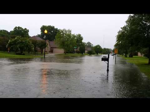 Geismar, LA Flash Flooding 5-28-2014