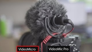 Rode VideoMicro Review + Comparison with VideoMic Pro
