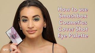 SMASHBOX COSMETICS Cover Shot Eye Palette in Bold Glitter   ipsy Tutorials