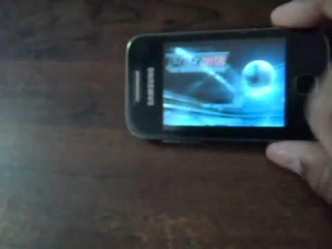 Pro Evolution Soccer 2012 HD on Samsung Galaxy Y