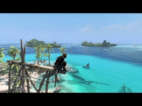 Assassin's Creed IV: Black Flag te enseña a cazar tiburones (VIDEO)