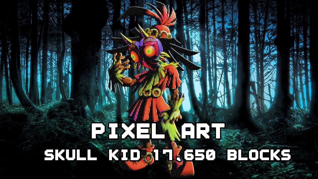 Skull Kid | Pixel Art