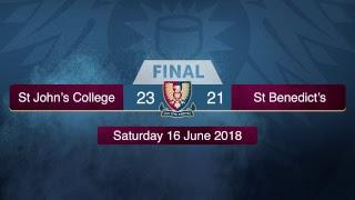 1st XV vs St Benedict's