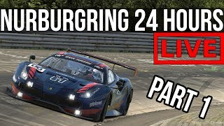 iRacing - Nurburgring 24 Hours   Race Start