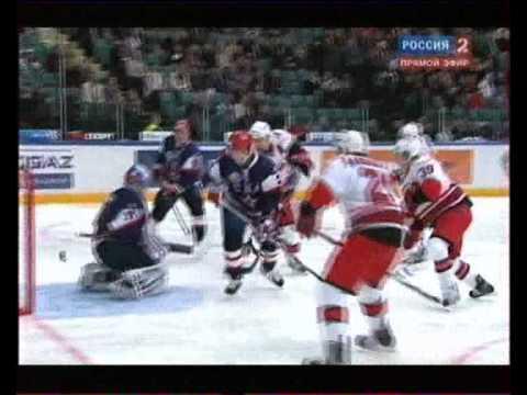 СКА Санкт Петербург РоссияКХЛ VS Каролина Харрикейнз США NHL wmv