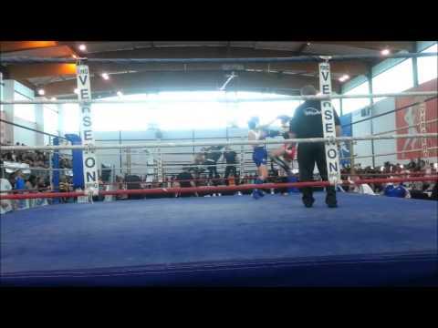 1/2 Finale Eva Guillot Championnat de France de Kick Boxing
