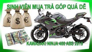 Trả góp Ninja 400 - Phù hợp với các AE sinh viên, đi làm Công ty #KAWASAKI #MOTORROCK