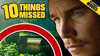 JURASSIC WORLD: FALLEN KINGDOM Official Trailer Breakdown - Things Missed & Easter Eggs