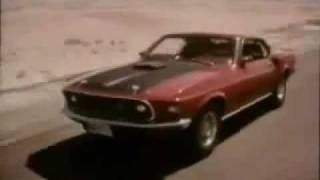 Ford Mustang Mach 1 Classic Car Commercial