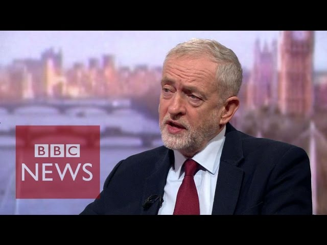 Jeremy Corbyn: I'm not going anywhere, I'm enjoying every moment - BBC News