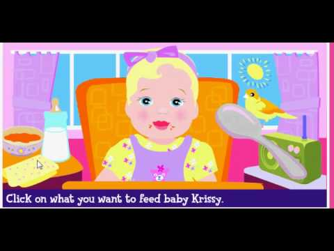 Barbie - Let's Babysit Baby Krissy - Full Gameplay
