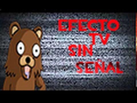 Efecto De Television Sin Señal #3