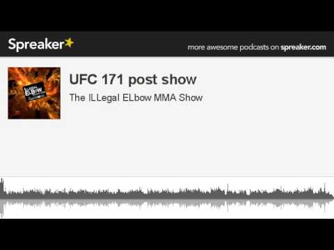 UFC 171 post show made with Spreaker