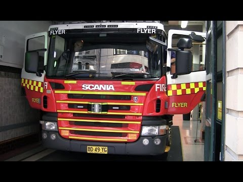 City of Sydney Fire Station 17 May 2014