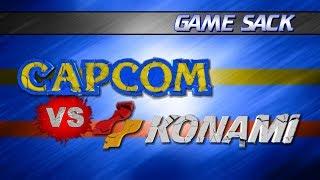 Capcom vs Konami - Game Sack