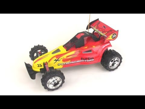 New Bright Interceptor RC buggy