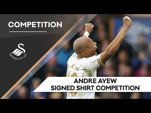 Swans TV - Competition: Andre Ayew Signed Shirt