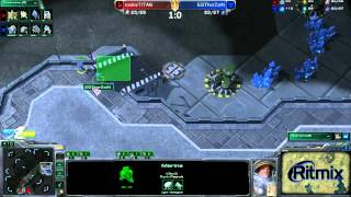 RoX.KIS.TitaN vs EGThorZaiN Game 2: Ritmix RSL II Group D - [Starcraft II]