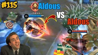 Mobile Legends WTF | Funny Moments Episode 115: Aldous Vs Aldous