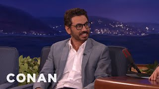 Al Madrigal Got A Political Scoop From A Taco Truck  - CONAN on TBS