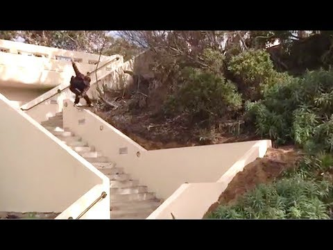 INSTABLAST! - BIG BOY ON BOARD, Hardflip DOUBLE Flip? Ridiculous Boardslide! Rain Skateboarding