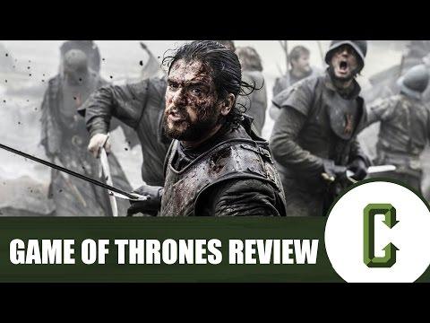 Game of Thrones Season 6 Review Part 1 - Jon Snow, Sansa, Bran, Ramsey Bolton, Sam