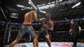 EA SPORTS™ UFC® 3 First punch Nate Diaz threw to start round 3 ends Conors night!!!!!!! MUST SEE!!!!