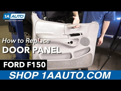 How to Replace Install Door Panel 98 Ford F150 Buy Quality Auto Parts at 1AAuto.com